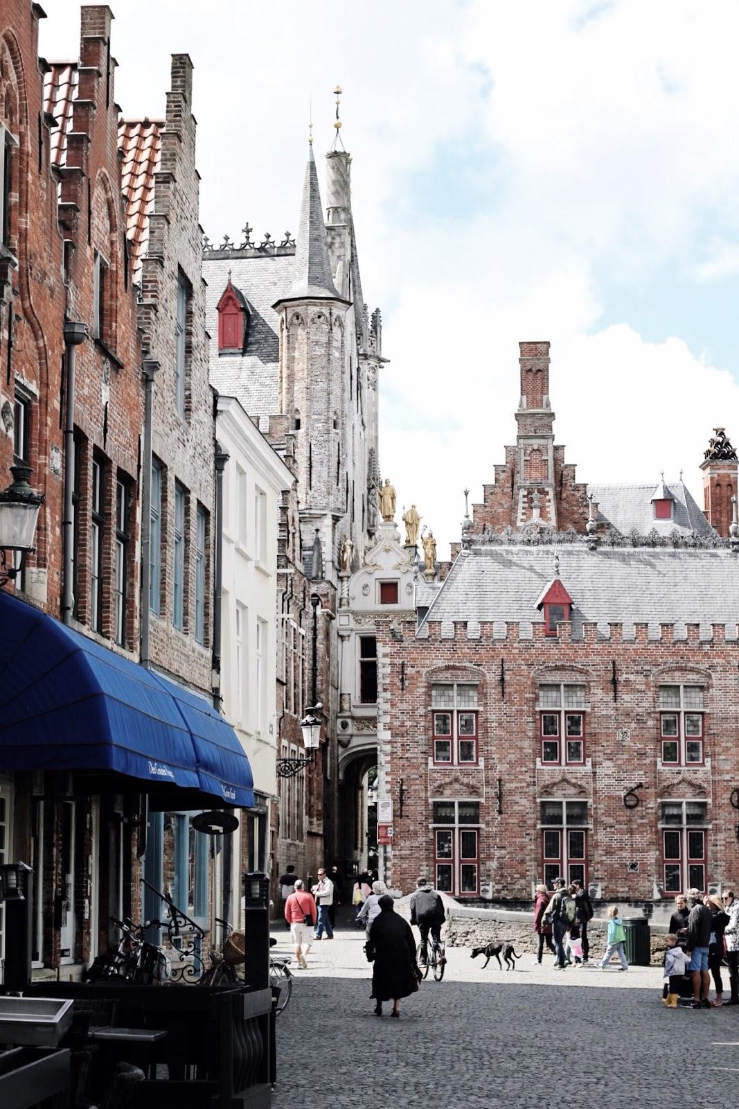 Belgium Bruges Cobbled Streets