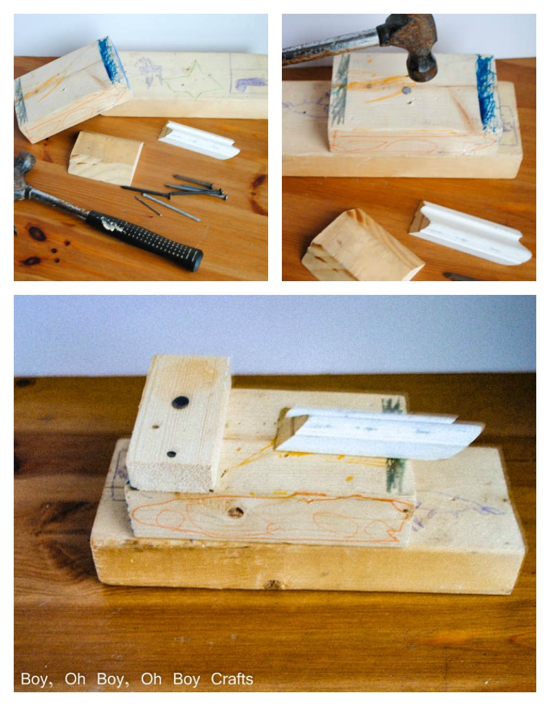 Handmade Gifts For Boys- Wooden Scrap Tank