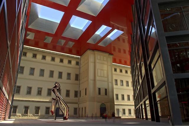 Museu de Arte Reina Sofia em Madri