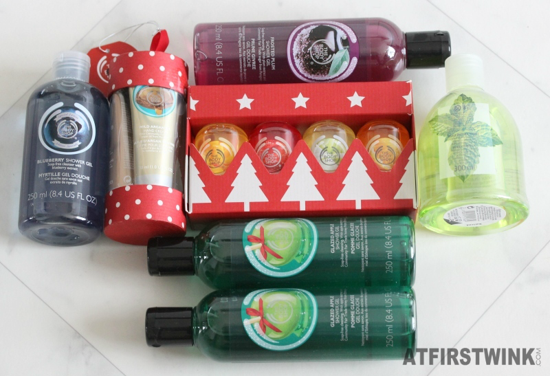 The Body Shop Christmas 2015 sale haul purchases seasonals gift sets limited editions