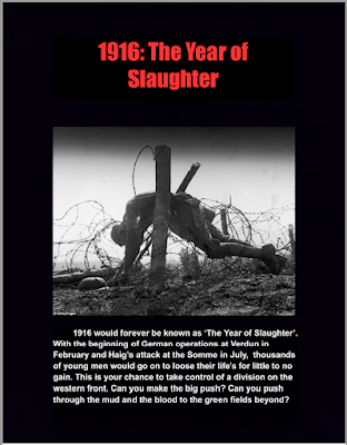 The Year of Slaughter: Armies on the Western front during 1916