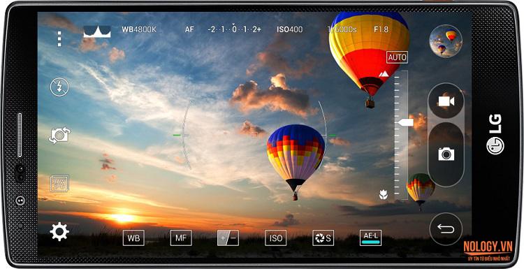 hình ảnh chụp từ LG G4 Docomo