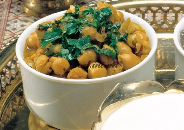 Curried Chickpeas – Channa Dal