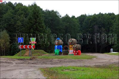 Соломенная семья, дорога на Дожинки-2011