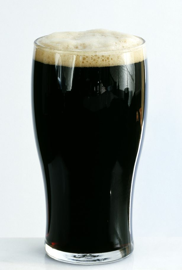 Stout on the list of food and drink containing purines