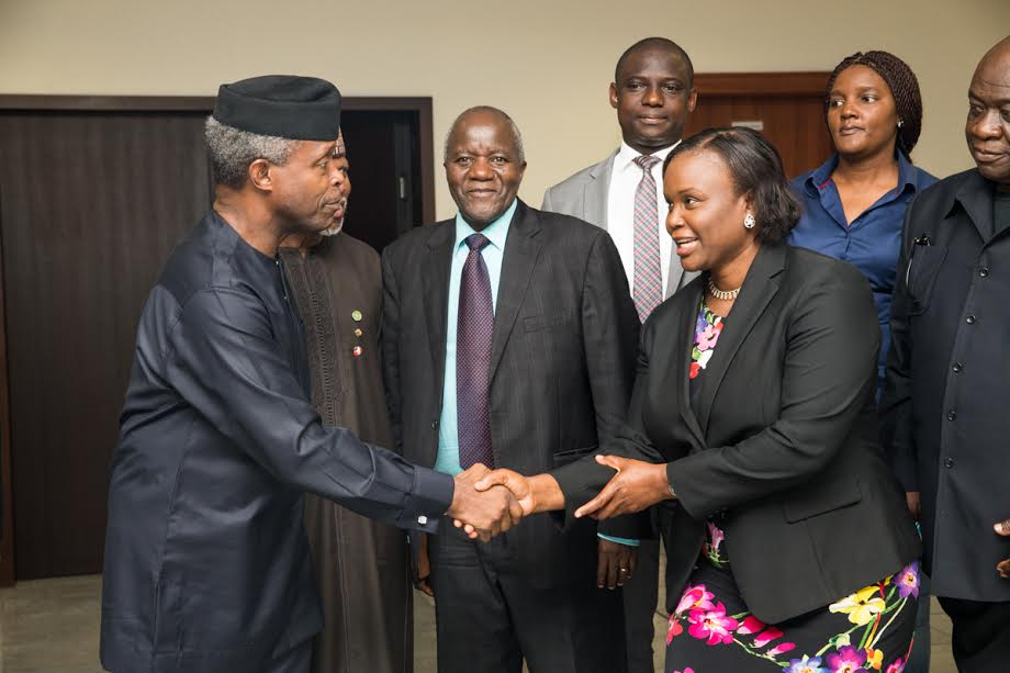 Osinbajo and Olu of warri