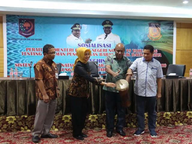 Elysa Auri Akui Banyak Aset Pemprov Papua Dipindahkan Tangankan