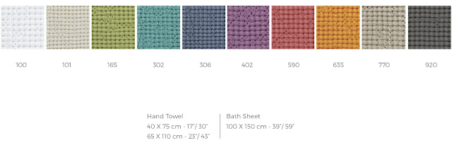 Abyss Habidecor toalla de baño Pousada