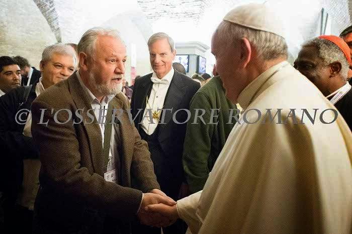 João Pedro Stedile fez o discurso de encerramento  do encontro de Movimentos Populares no Vaticano