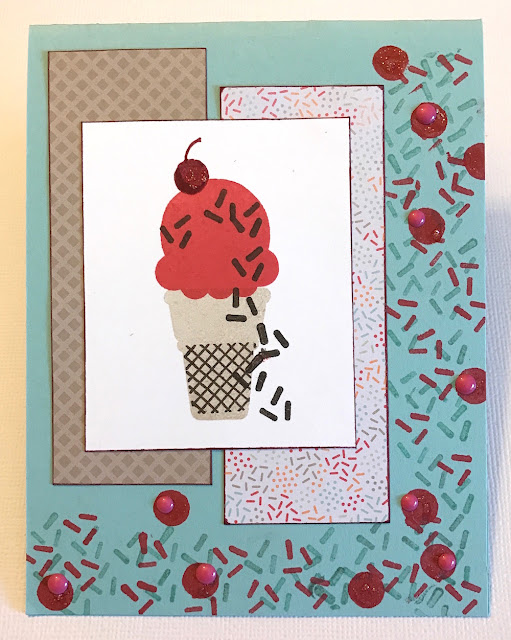 ice cream card lisa fulmer