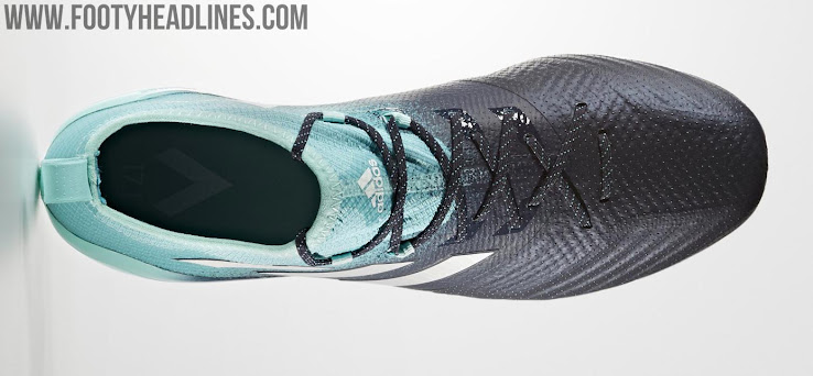 381483344d83 From a tech point of view, the Energy Aqua, Legend Ink and White Adidas Ace  17.1 Primeknit 2017 soccer boots are identical to the launch colorway of  the Ace ...