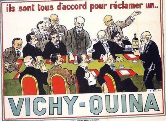 Pub ancienne, Vichy-Quina