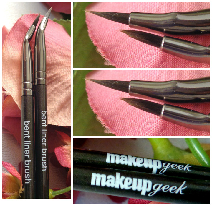 Makeup Geek Bent Eyeliner Brush