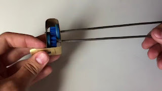 Mixer Mini Buatan Sendiri dari Botol Gelas Jus