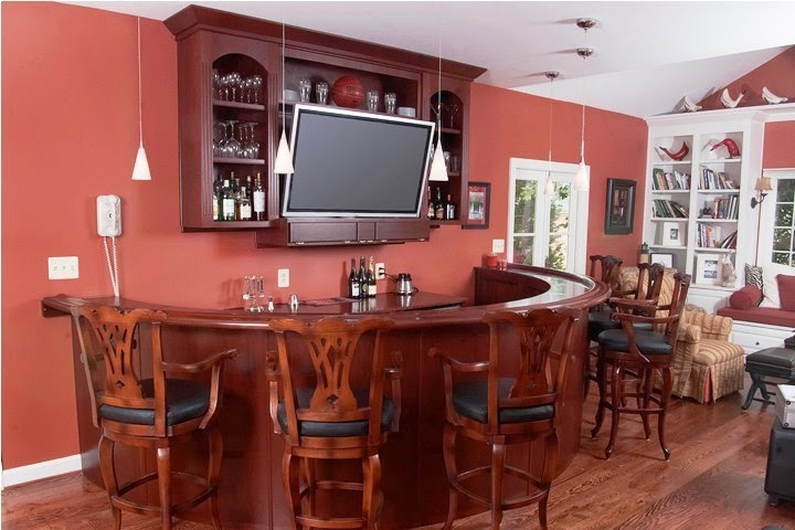 wall colors for home bar