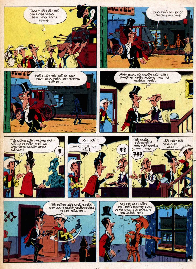 Lucky Luke tap 1 - ban tay nham trang 21