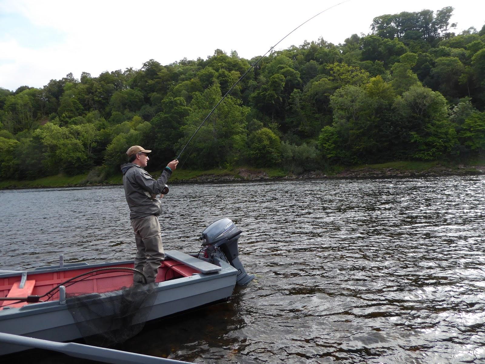 Salmon fishing scotland salmon fishing scotland late for Salmon fishing colorado