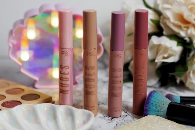primark nudes lipsticks