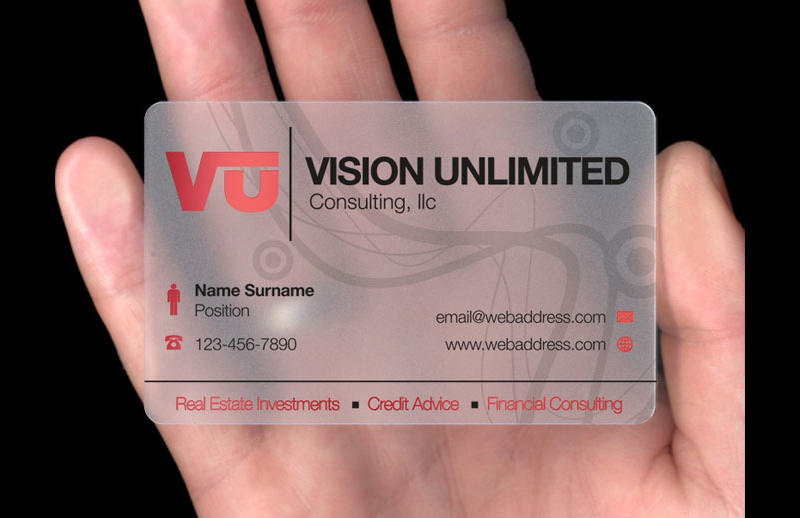 Vrds sg points to note when printing a transparent name card 280gsm frosted transparent card colourmoves