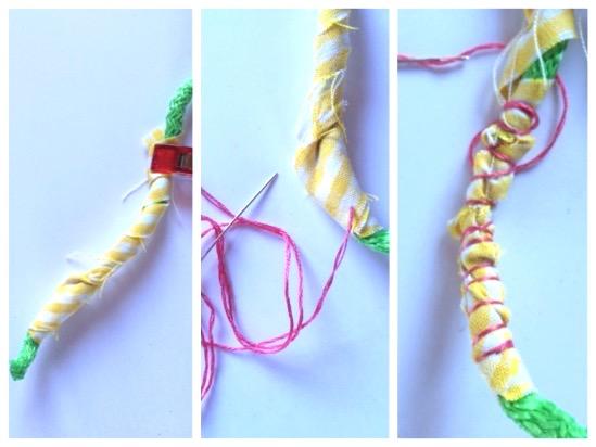 maguiandmi costura facil diy collar reciclar tela