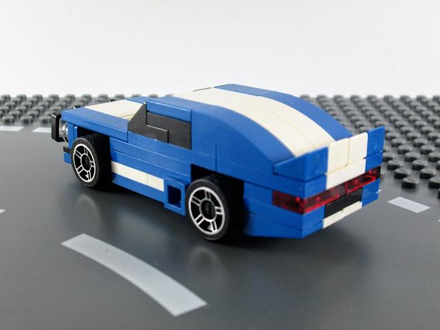 MOC LEGO Muscle Car