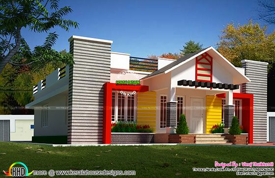 Colorful budget home 1216 sq-ft
