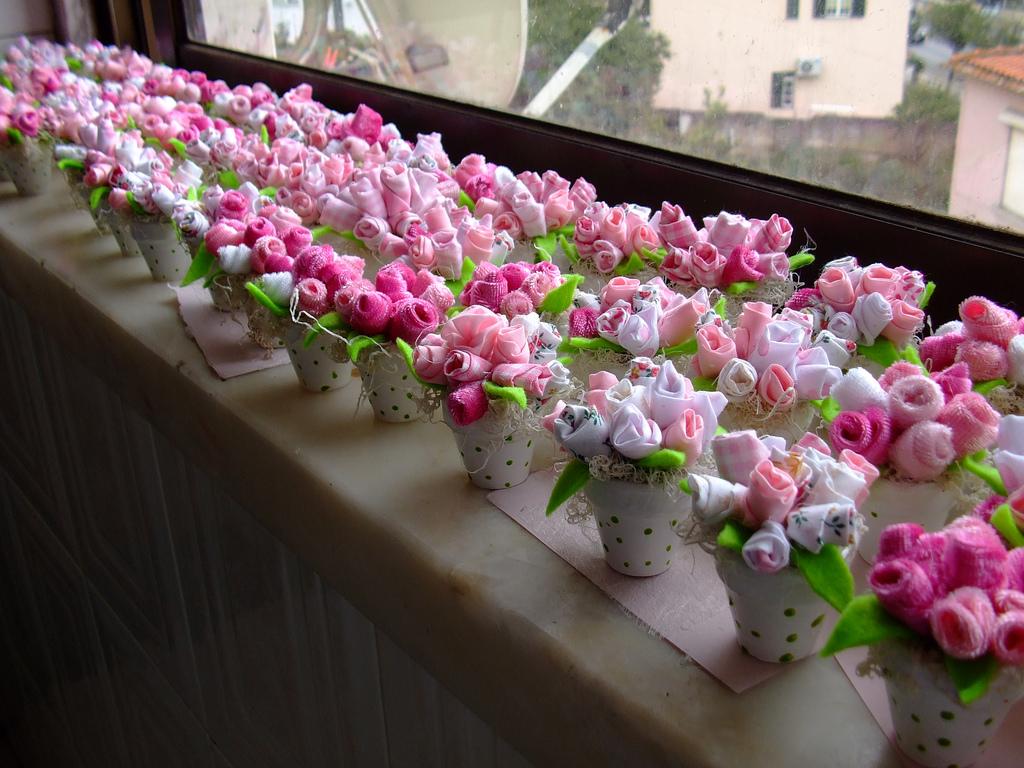 Decoration Petit Pot De Fleur mariage, baptême, communion, décoration: le monde des