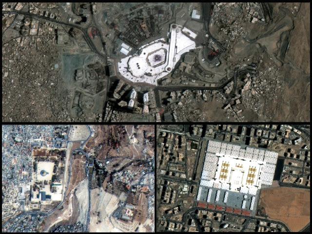 Mekah+&+Madinah,+Bandar+Paling+Terang+Da