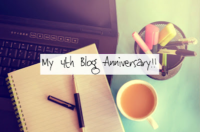 Image result for 4th bloganniversary