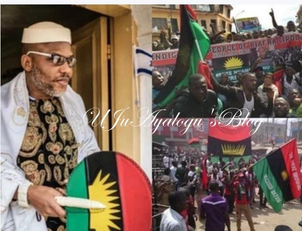 IPOB Stages Anti Okorocha Rally, Says Biafra Non-Negotiable