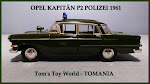 * OPEL MODEL TOY CARS *