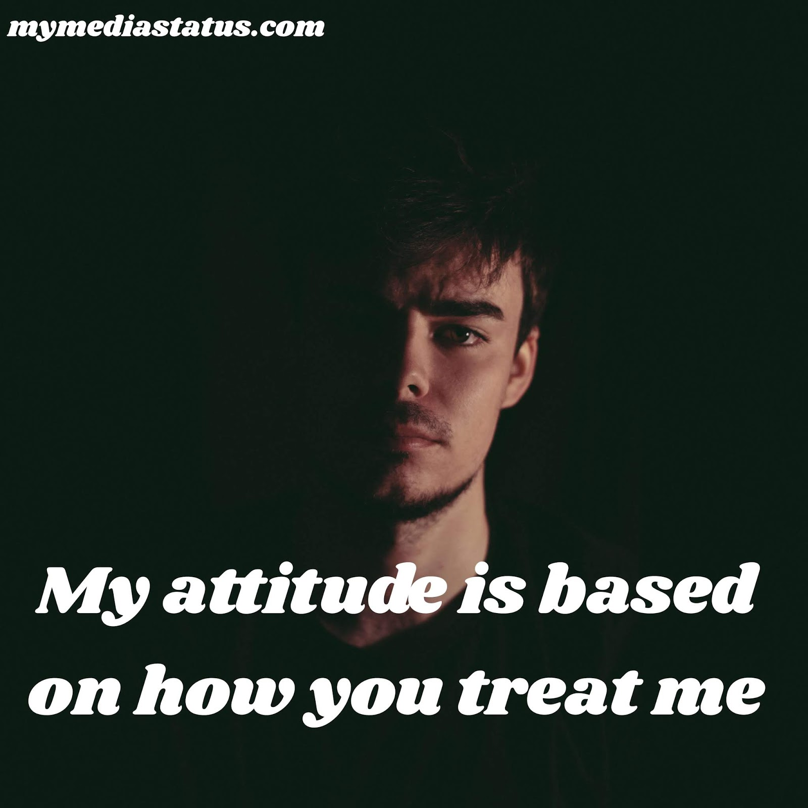 Fb attitude status in english