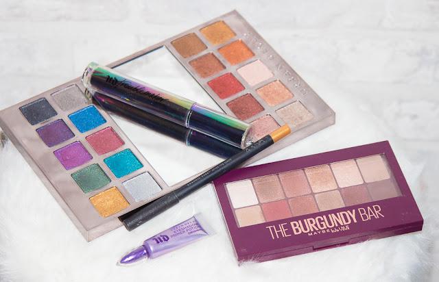 palette - heavymetal - burgundy - maquillage