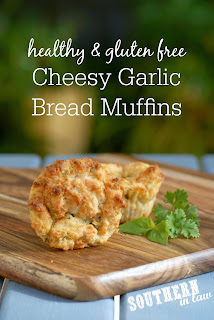 Gluten Free Cheesy Garlic Bread Muffins Recipe