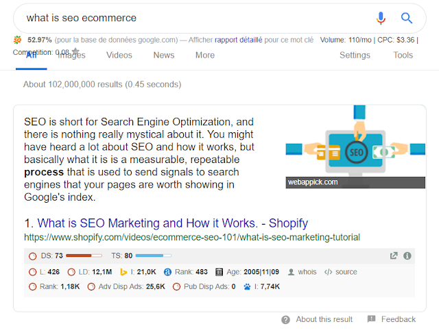 Seo 2019: Feature Snippet