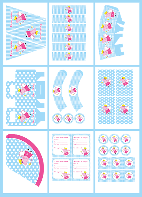 Ioanna's Notebook - 15 free printable party sets