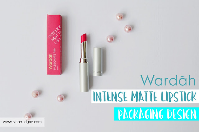 Wardah Intense Matte Lipstick packaging