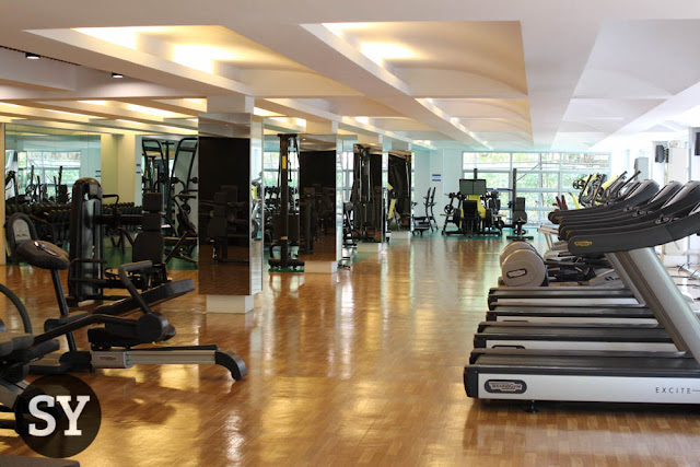 Zennith Wellness Gym - time to gain some muscles!