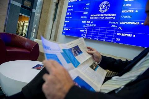 BÉT - Növekvő forgalomban emelkedett a BUX a héten