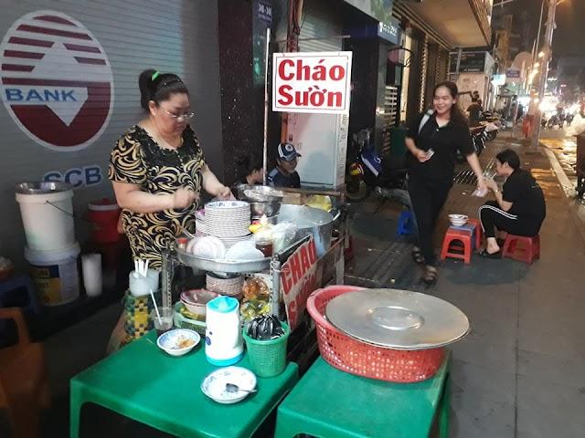 Ngang qua Tân Định - nhớ món cháo sườn!