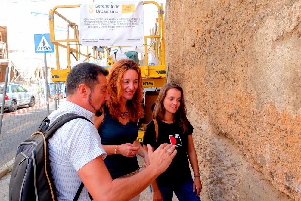 restauracion muralla macarena sevilla