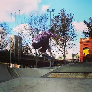Mark Jansen Skateboarding Adelaide Sk8 park