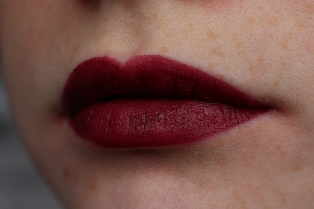 NYX copenhagen lipstick review