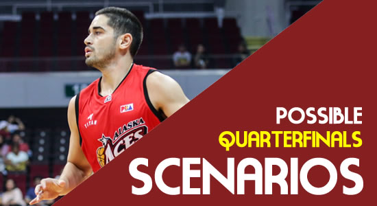 LIST: Alaska Scenarios Entering the Quarterfinals 2018 PBA Governors' Cup