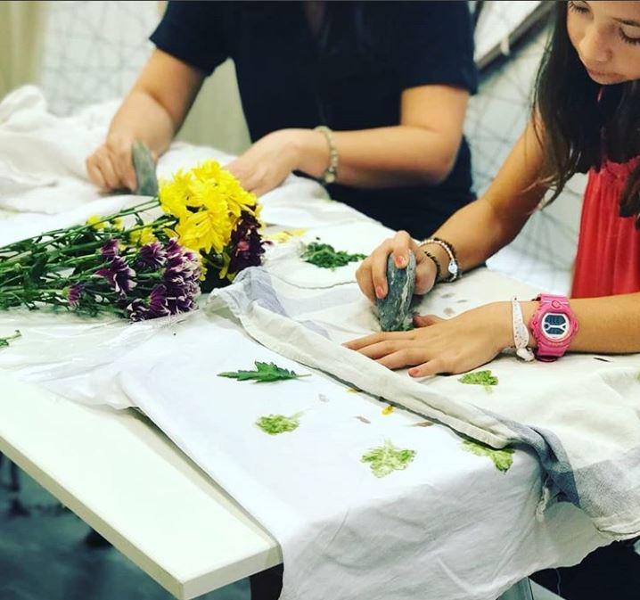 Hapazome Natural Dye Workshop