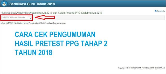 Hasil gambar untuk cek hasil ppg