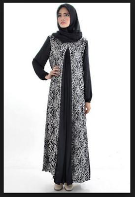 gambar-baju-gamis-muslim-brokat