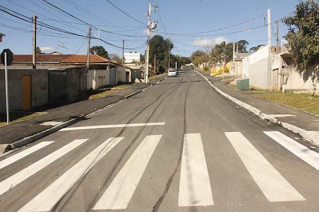 Mais seis ruas têm pavimentações concluídas em Colombo