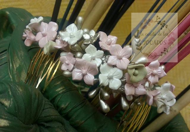 semicorona para novia artesanal estilo vintage