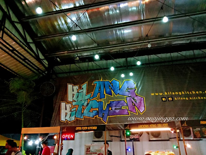 Sekali lagi santai makan di  Kilang Kitchen , Setapak, Kuala Lumpur
